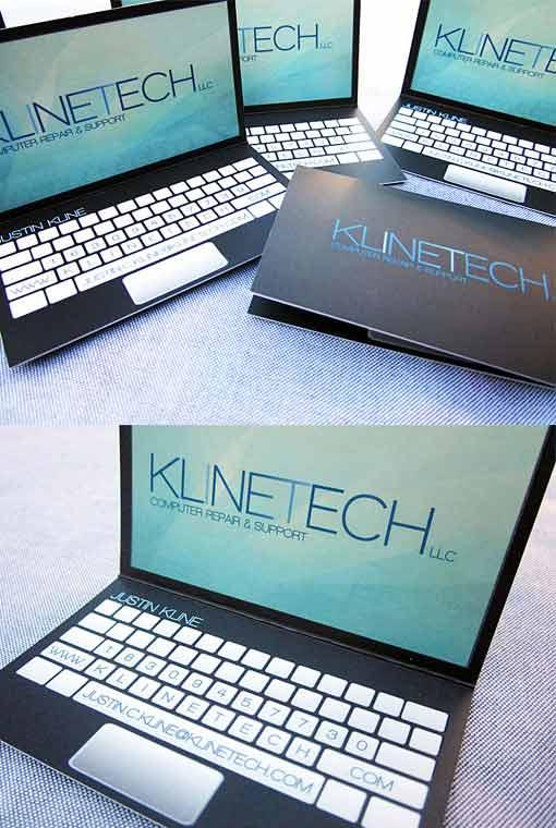 визитка Klinetech