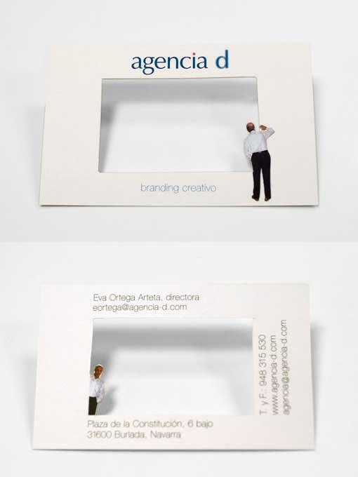 визитка agencia