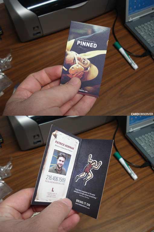 визитка pinned