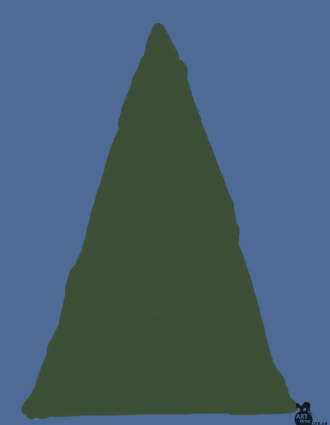 рисуем елку