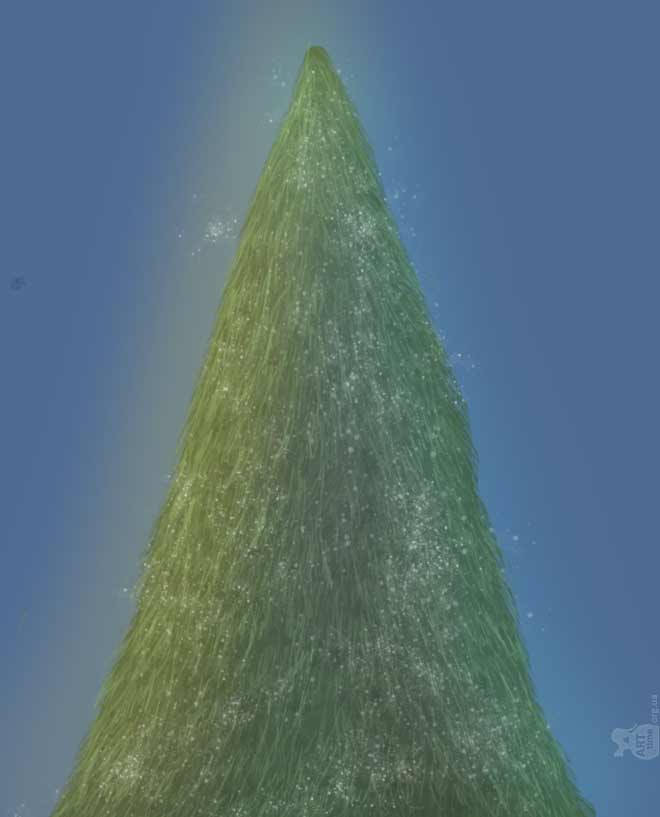Украшаем елку в фотошопе