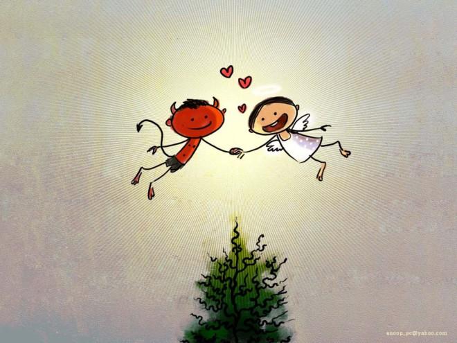 Подборка иллюстраций ко дню Св. валентина