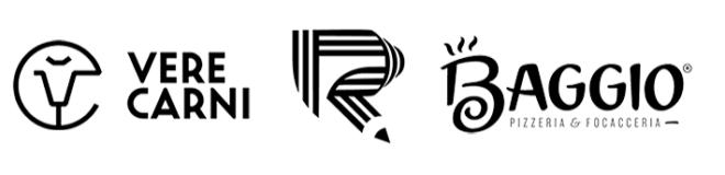 Чёрно-белый логотип