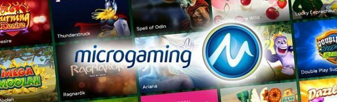 Microgaming казино икс