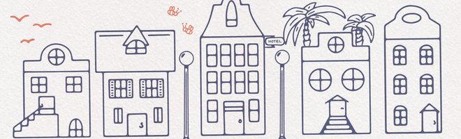 Скандинавские дома: бесплатные векторные изображения