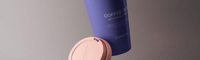 Макет чашки кофе