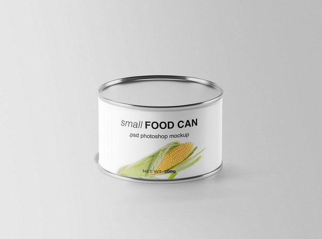 Макет банки для еды