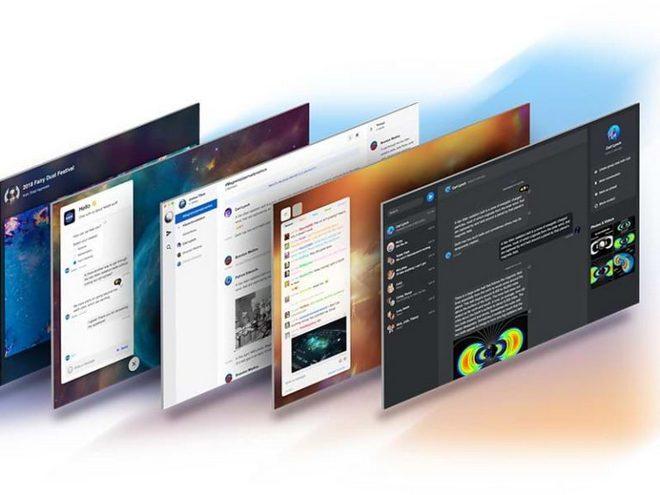 Набор пользовательского интерфейса чата для Sketch