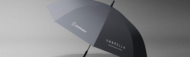 Макет зонта