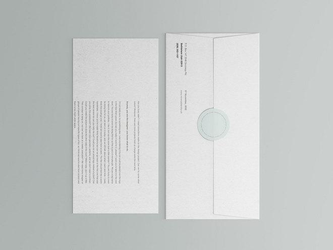 Макет корпоративного письма