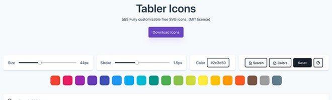 Иконки Tabler