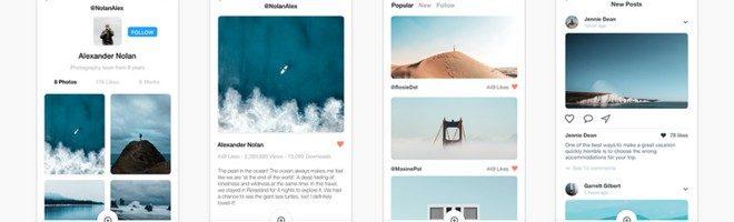 Travel в стиле Instagram для iOS