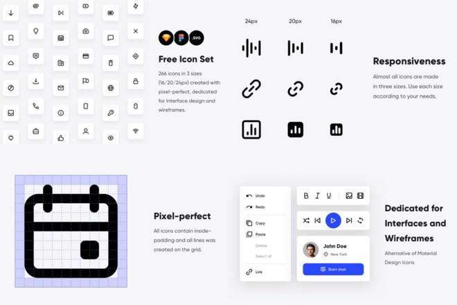 Бесплатные иконки для UI